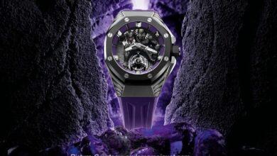 Photo of Audemars Piguet Launches This £3.78 Million 'Black Panther' Royal Oak Concept Watch