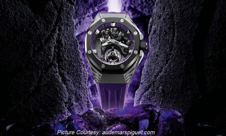 Audemars Piguet Launches This £3.78 Million 'Black Panther' Royal Oak Concept Watch