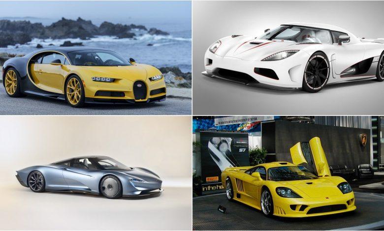Top 10 cars of a decade ago