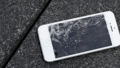 Photo of Broken Apple iPhone's Home Button.
