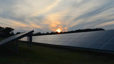 Photo of Sun Powered Panels Blue And Black Comparison