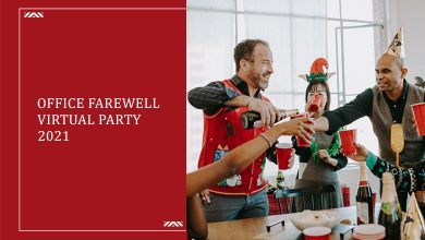 Photo of Office Virtual Farewell Party 2021