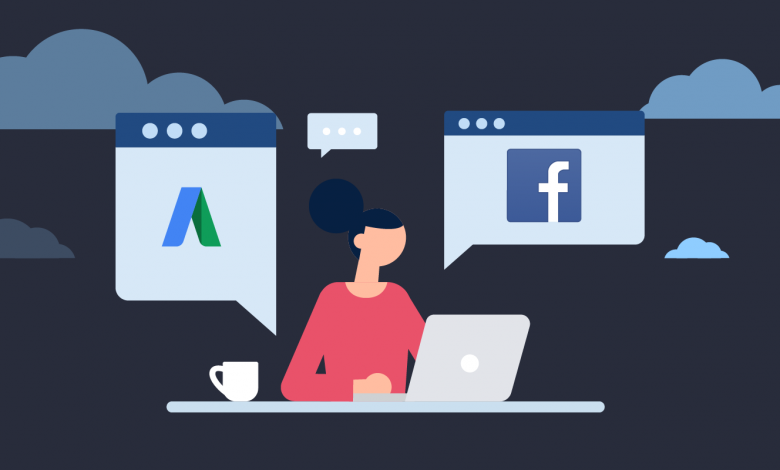 Facebook and Google Ad Campaigns