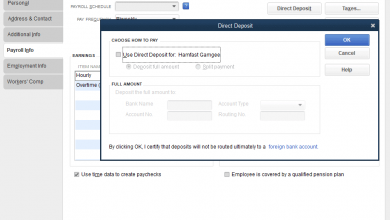 Photo of How to do Direct Deposit in QuickBooks Payroll