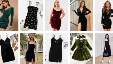 Photo of Buy Shien's Exciting Velvet Dresses
