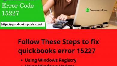 Photo of QuickBooks Error Code 15227 – Resolve