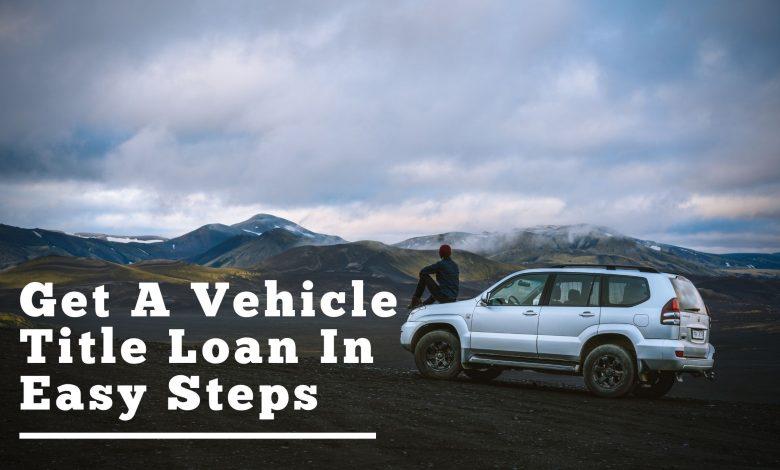 vehicle title loan