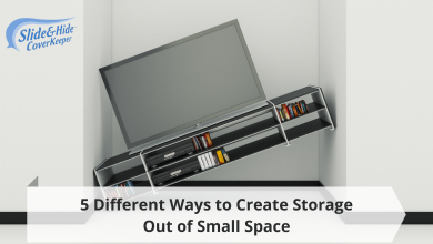 Photo of 5 Different Ways to Create Storage Out of Small Space