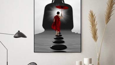 Photo of Why do people put paintings of Gautam Buddha in their homes?