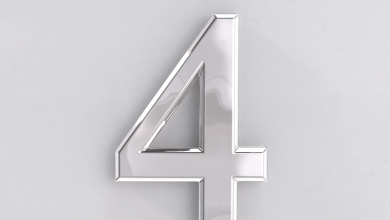 Photo of Chrome Door Numbers Come in a Variety of Styles