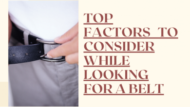 Photo of Top Factors to Consider While Looking for a Leather Belt